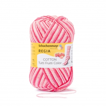 Regia Cotton Color Tutti frutti erdbeere color