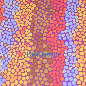 Rowan Brandon Mably -Pebble Mosaic-Purple